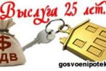 Имею ли я право на получение ЕДВ, если жильём не обеспечен при выслуге 25 лет