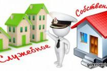 Ведомственная жилплощадь - временное жильё