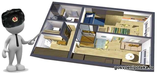 норматив жилья для военного