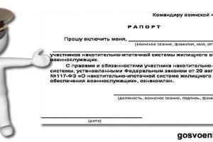 Стать участником НИС можно на основании рапорта