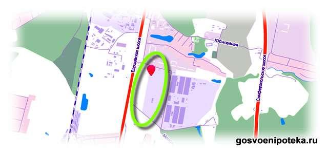новостройка на карте